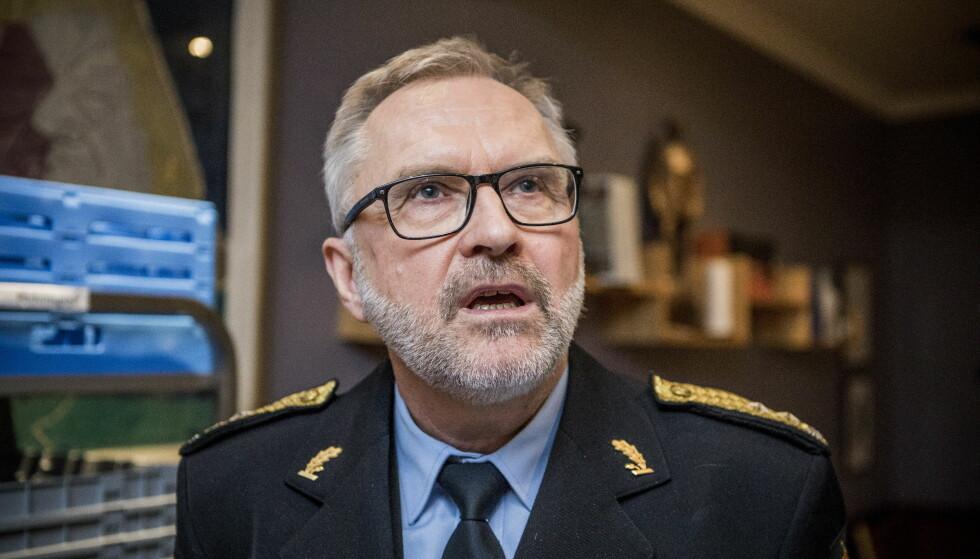 Moralist: Hans Sverre Sjøvold, politimester i Oslo kaster seg inn i rusdebatten med moralistiske argumenter. Foto: Christian Roth Christensen / Dagbladet