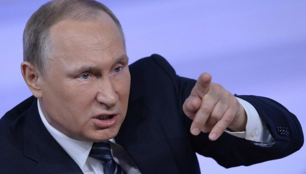 IKKE FORNØYDE: Russland var orientert på forhånd om intervensjon fra USAs side og advarte om at det ville få negative konsekvenser for USA.Foto: AFP / Natalia Kolesnikova / NTB Scanpix
