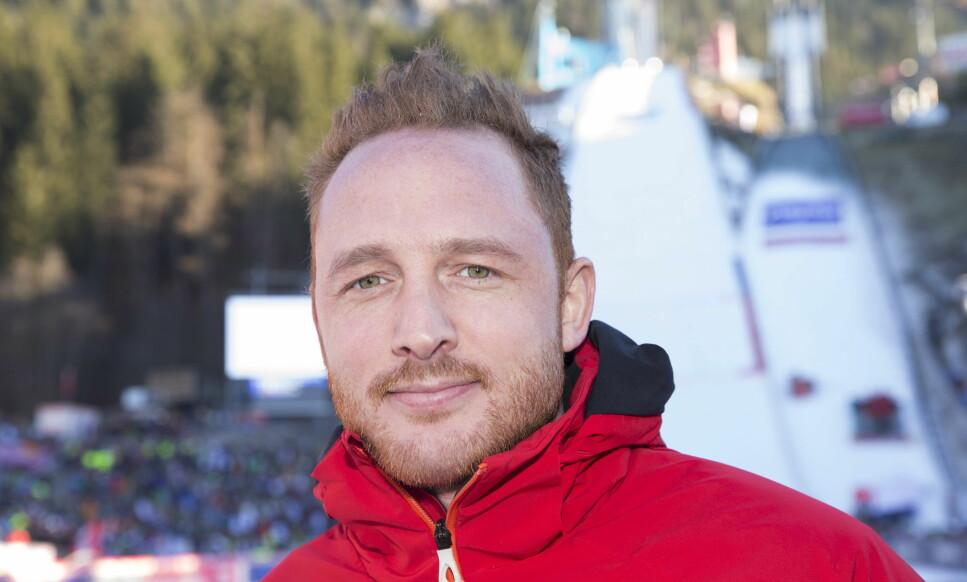 OPPTUR: NRKs ekspertmmentator Johan Remen Evensen tror hoppturneringen Raw Air gi en opptur i hoppeinteressen. Foto: Terje Bendiksby / NTB scanpix