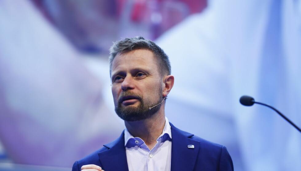 HØYRE BEDRE: Høyres nestleder reagerer på påtroppende LO-leders budskap ved inngangen til LO-kongressen. Han viser til flere eksempler på at Høyre er bedre egnet til å ivareta trepartssamarbeidet i arbeidslivet enn Ap. Foto: Terje Pedersen / NTB scanpix