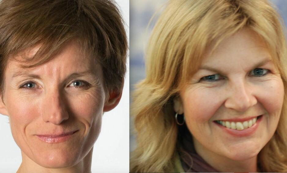 <strong>FAGFOLK:</strong> Mari Pettersvold (t.h.) og Solveig Østrem mener Olins film kan representere en viktig stemme, særlig om flere fagfolk bidrar i debatten. Foto: Privat