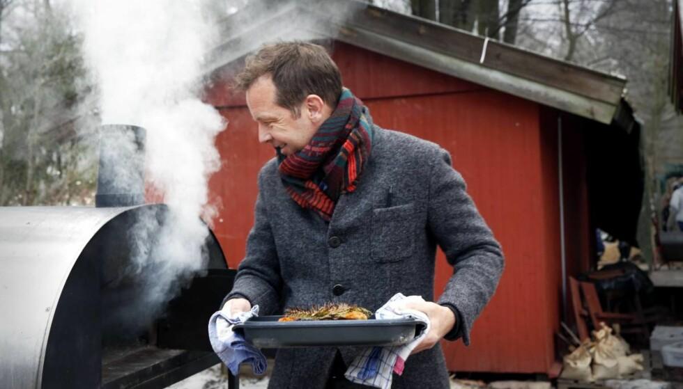 Godt signal: Det viktigste med northern barbecue ligger i røyken. Foto: Mette Randem