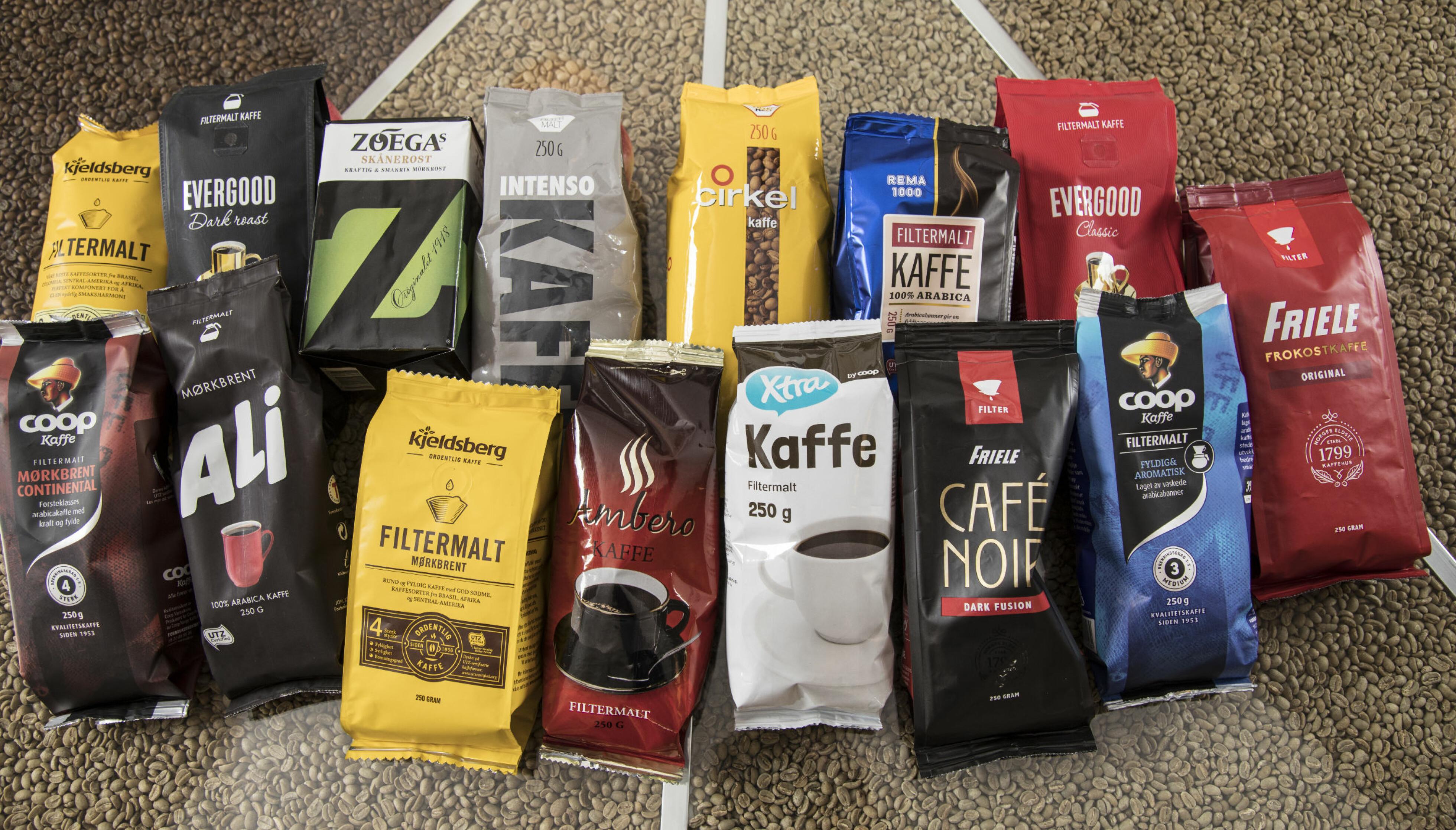 FRA BRASIL: Mye av denne kaffen kommer fra Brasil. Vil du gjøre et klokt valg, se etter merker som Fair Trade, UTZ eller Rain Forest Alliance. Foto: DAGBLADET