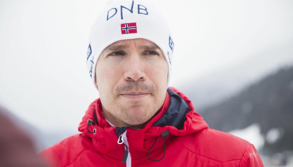 DRØMMER OM SEIER: Emil Hegle Svendsen har slitt tungt i flere sesonger, men stiller optimistisk til start i OL-sesongen.  Foto: Berit Roald / NTB Scanpix