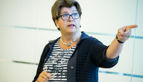 KRITISERTE BRANSJEN: Forbrukerdirektør Randi Flesland kom nylig med kraftig kritikk av eierskifteforsikringer. Foto: Vegard Wivestad Grøtt / NTB scanpix