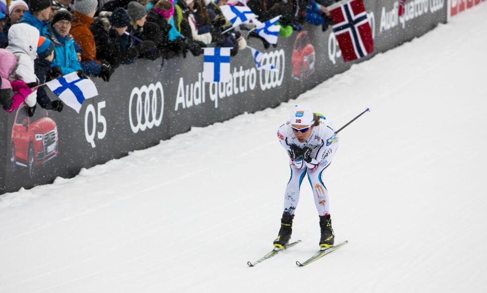 SYK: Kombinertløper Mikko Kokslien mister verdenscupfinalen i Schonach som følge av sykdom. Her fra VM. Foto: Tore Meek / NTB scanpix