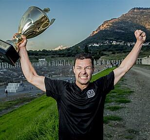 STOLT VINNER: På under ett år har Anders Jacobsen både vunnet «71 grader nord» og «Mesternes mester». Foto: Bjørn Langsem / Dagbladet