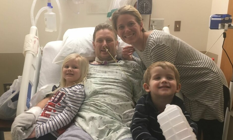 SJELDEN DIAGNOSE: Kevin Breens liv sto i fare, men til slutt fant legene ut at han hadde en uhyre sjelden sykdom. Foto: GoFundMe