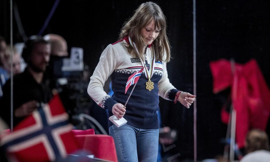 IKKE NOK: Maiken Caspersen Falla mener det må endringer til på landslagssamlingene om hun skal vinne sprintcupen neste år også.Foto:  Bjørn Langsem / Dagbladet