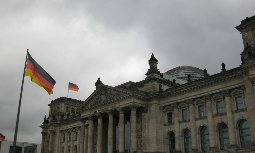 TYSKLAND: Tyske borgeres tillit til USA har stupt, etter at Donald Trump ble president. Foto: Michael Rhodes / Flickr.com / All creative commons