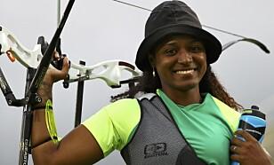 NUMMER NI: Ane Marcelle dos Santos lurer på om det var verdt å satse mot Rio-OL, der hun ble nummer ni i buskyting. Foto: REUTERS/Leonhard Foeger  / NTB Scanpix