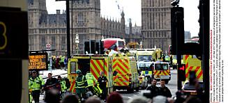 Minst fire drept og 20 skadd etter London-terroren