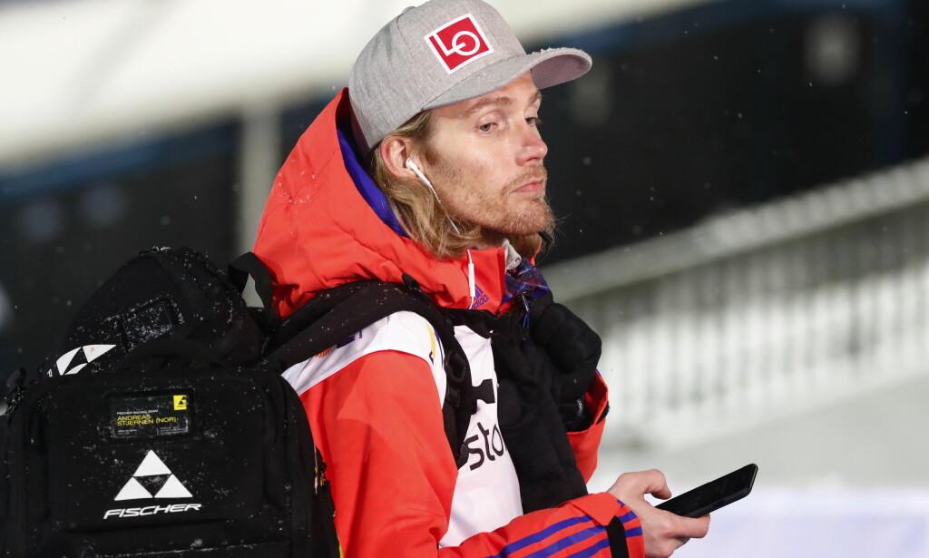 BLÅSTE RØDT: Hoppernes markedssjef - Bjørn Einar Romøren - ble tatt med promille på vei til Vikersundbakken søndag. Foto: Terje Pedersen / NTB Scanpix