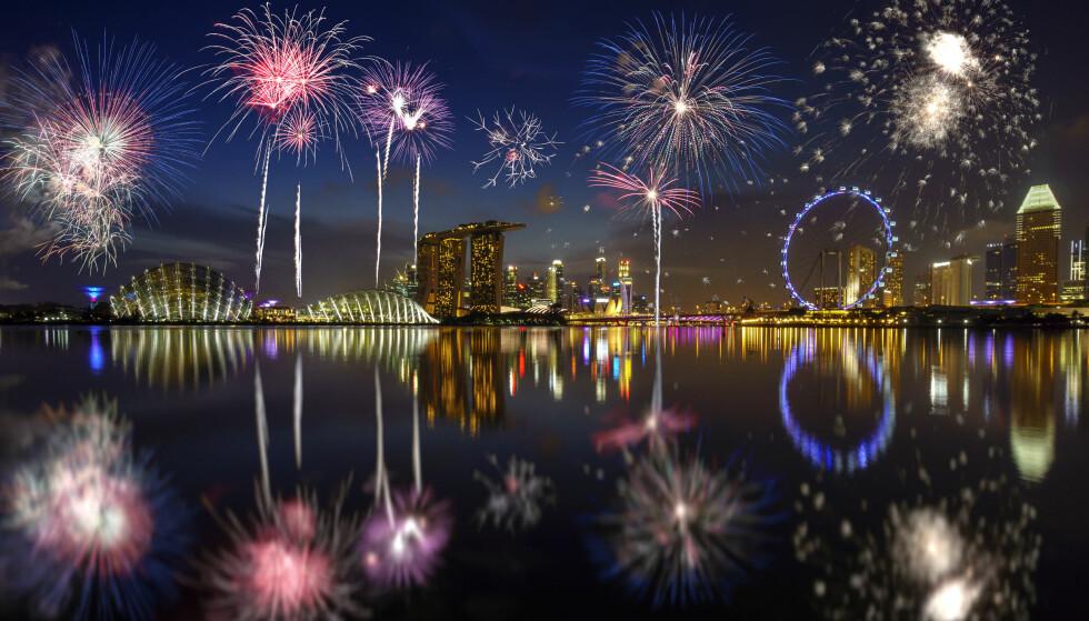 KOSTBART: Singapore er for fjerde året på rad kåret til verdens dyreste by å leve i. Foto: Shutterstock / NTB Scanpix