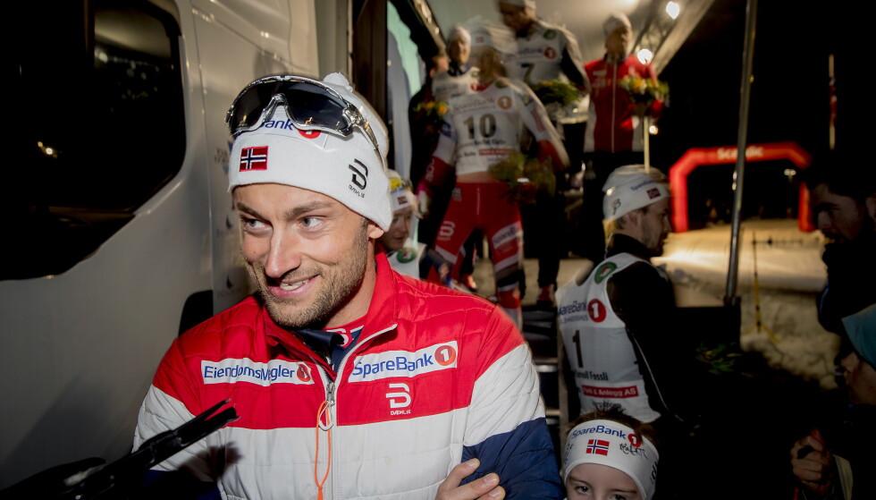 GÅR KANSKJE PÅ GÅLÅ: Petter Northug prioriterer trening, og går kanskje norgescup på Gålå i helga. Det er ennå ikke bestemt. Foto: Bjørn Langsem / Dagbladet