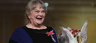 Anne Marit Jacobsen mottok St. Olavs Orden
