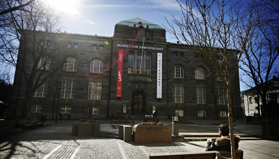 STENGER I SEPTEMBER: Museet for samtidskuns på Bankplassen i Oslo stenger i september. Deretter får bygget en uviss skjebne. Foto: Frank Karlsen / Dagbladet