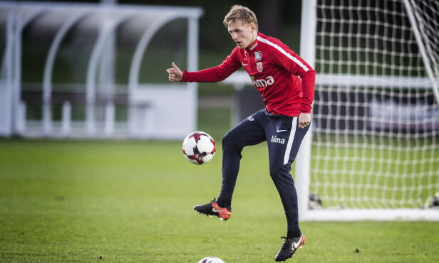 GOD KONTROLL: Mats Møller Dæhli er skadefri og i fin form før kampen mot Nord-Irland. Foto: Hans Arne Vedlog  /  Dagbladet