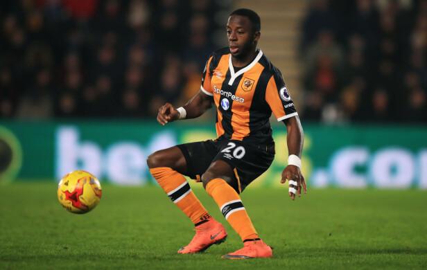 MISFORNØYD: Adama Diomandé synes ikke han har fått ut potensialet sitt som kantspiller i Hull. Foto: NTB Scanpix