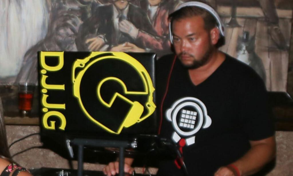 DJ: Jon Gosselin på jobb som DJ i august 2016. Foto: Splash News / NTB scanpix