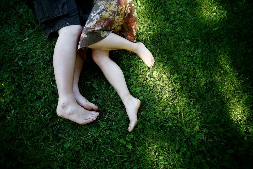 DEBUTALDER: Bente Træen ser på tall for seksuell debutalder. - Bifile har sannsynligvis flere erfaringer med motsatt kjønn før de samler erfaringer med samme kjønn. Illustrasjonsfoto: Sara Johannessen / NTB Scanpix