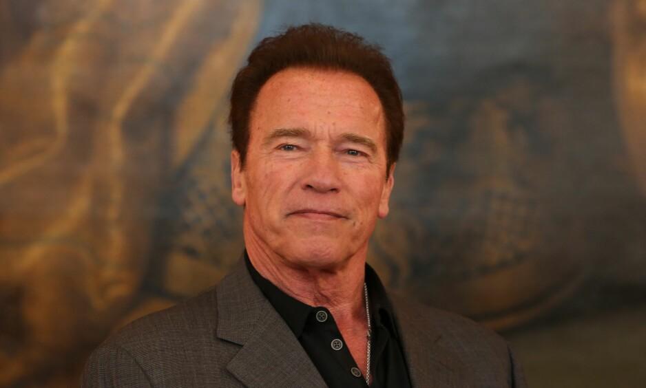 SATTE NED FOTEN: Arnold Schwarzeneggers respons til en spydig kommentar om Special Olympics tar internett med storm. Foto: Karl Schoendorfer / REX / Shutterstock / NTB Scanpix