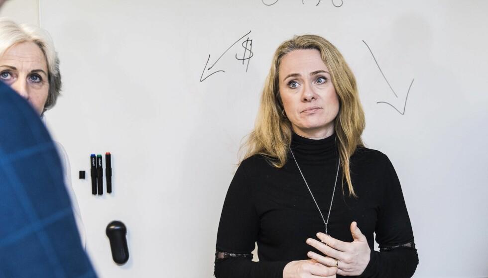VARSLER ENDRING: Arbeidsminister Anniken Hauglie.