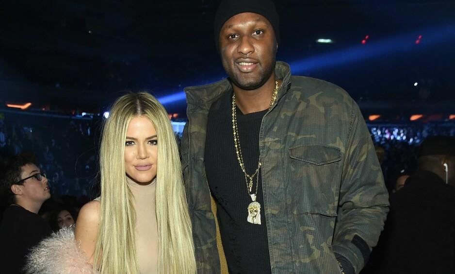 IKKE FORNØYD: Lamar Odom letter på sløret om eksen Khloé Kardashians avsløring om at hun løy om at hun ville bli gravid med ham. Foto: Jamie McCarthy/ Getty Images /AFP / NTB scanpix