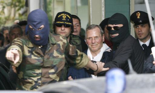 ARRESTERT: En rekke mafialedere er arrestert i Palermo de siste 25 årene. I 2006 ble Bernardo Provenzano, som hadde vært etterlyst i fire tiår, tatt. Foto: AP / NTB Scanpix