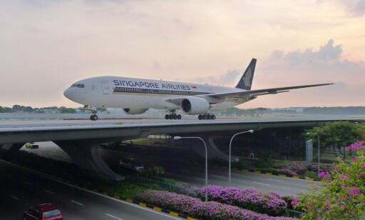 Nordmenn på reise: Hvis du først skal ha en transittpause så kan du like gjerne velge en god flyplass. Foto: Changi Airport