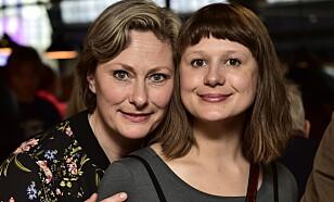 NOMINERT: Kjerst Elvik og Gine Cornelia Pedersen. Foto: Lars Eivind Bones / Dagbladet