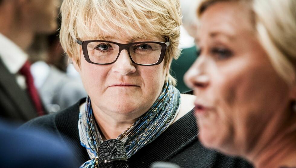 VIL INN: Trine Skei Grande ser for Foto: Christian Roth Christensen / Dagbladet