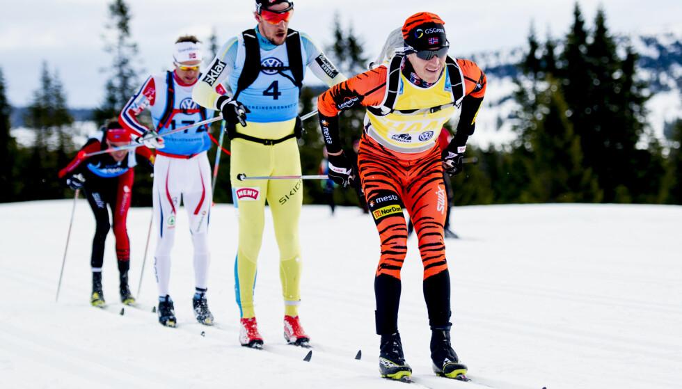 OVERLEGEN: Petter Eliassen, her fra Birkebeinerrennet, vant Reistadløpet i dag. Foto: Jon Olav Nesvold / NTB Scanpix