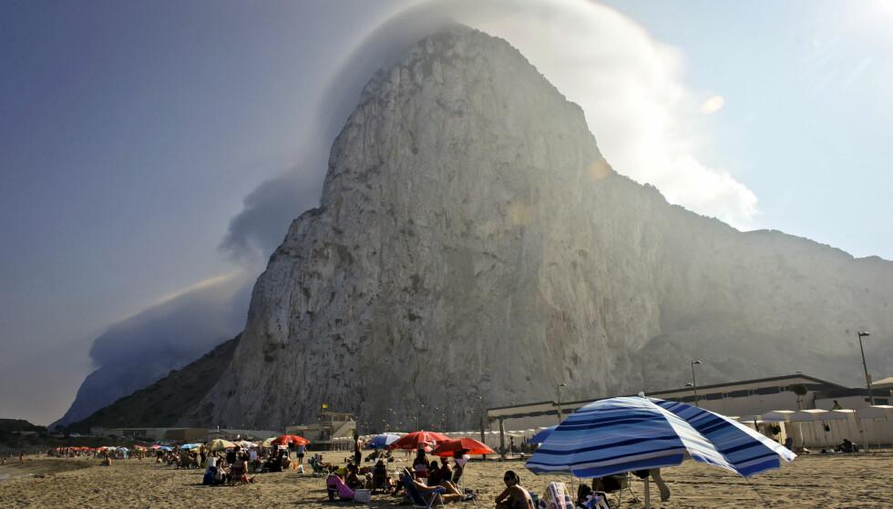 BERØMT STEIN: The Rock er Gibraltars mest berømte landemerke. Foto: NTB Scanpix
