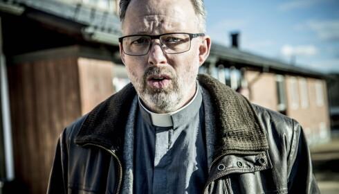 GIR KRISEHJELP: Sokneprest Lars Stenman har ansvaret for kirkens krisearbeid i Sveg. Foto: Thomas Rasmus Skaug / Dagbladet