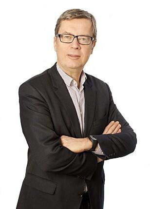 BEKYMRET: Kommunikasjonsdirektør i Obos, Åge Pettersen, er bekymret for at myndighetene skal tro at jobben nå er gjort, etter at boligprisene i hovedstaden falt i mars. Foto: Stine Moen / Obos