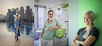 Annette, Kathrin og Inger lever  luksusliv de knapt hadde drømt om i Dubai