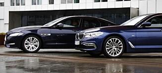 Luksusduell: BMW mot Jaguar. Valget er enkelt
