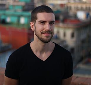 FORSKER: Ståle Wig er sosialantropolog og bor i Havanna, hvor han intervjuer småskala-forretningsfolk. Foto: Ingrid Evensen