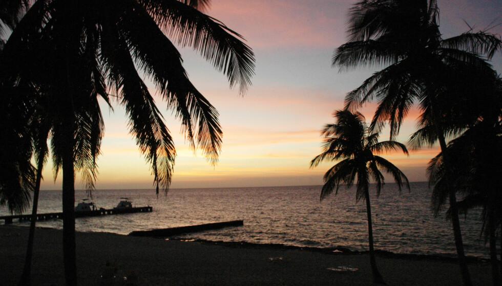 STRANDPARADIS: Mange forbinder Cuba med vakre strender. Som er på Maria La Gorda, helt sørvest på øya. Foto: Heidi Røsok-Dahl