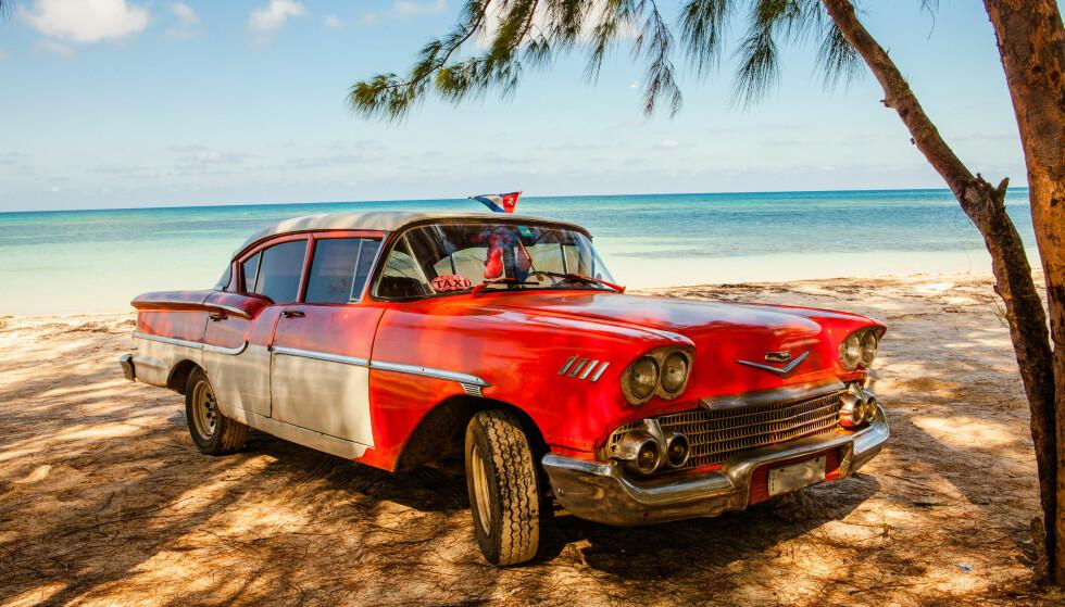 KLISJEEN: Cuba er heftige strender og mange amerikanske veteranbiler. Men også uendelig mye mer. Foto: Shutterstock / NTB Scanpix