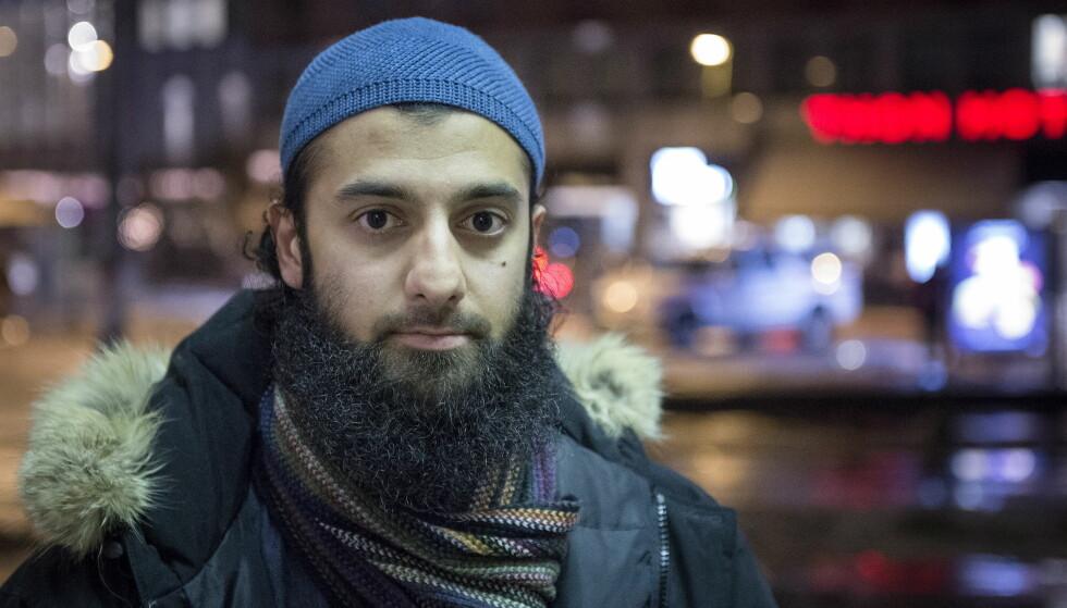 DØMT: Den norske islamisten Ubaydullah Hussain (31) er dømt til ni års fengsel av Oslo tingrett. Foto: Øistein Norum Monsen / Dagbladet