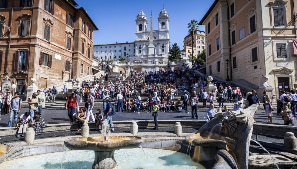 <strong>SEVERDIGHETER I KØ:</strong> Roma er steppet av attraksjoner. Foto: Shutterstock / NTB Scanpix