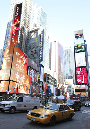 <strong>THE BIG APPLE:</strong> New York. Foto: NTB Scanpix