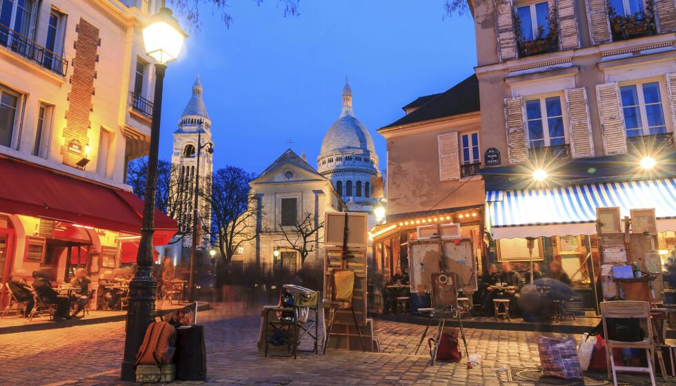 <strong>MER ENN EIFFEL-TÅRNET:</strong> I Paris er det slett ikke vanskelig å finne vårlig idyll på en uteservering. Foto: Shutterstock / NTB Scanpix