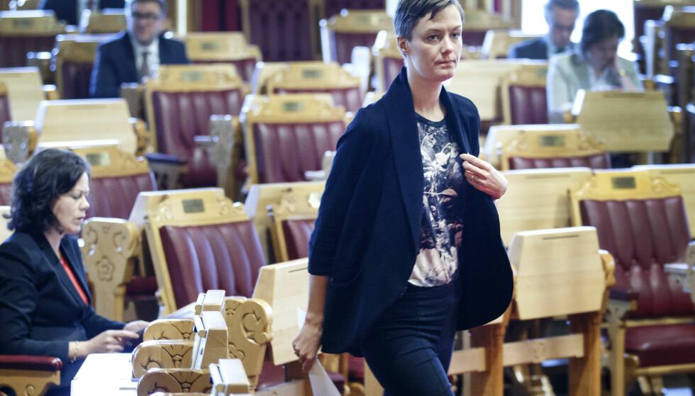 KRITISK: Anette Trettebergstuen (Ap) mener dagens regjering har liten grunn til å være fornøyd med sin likestillingspolitikk. Foto: Gorm Kallestad / NTB scanpix