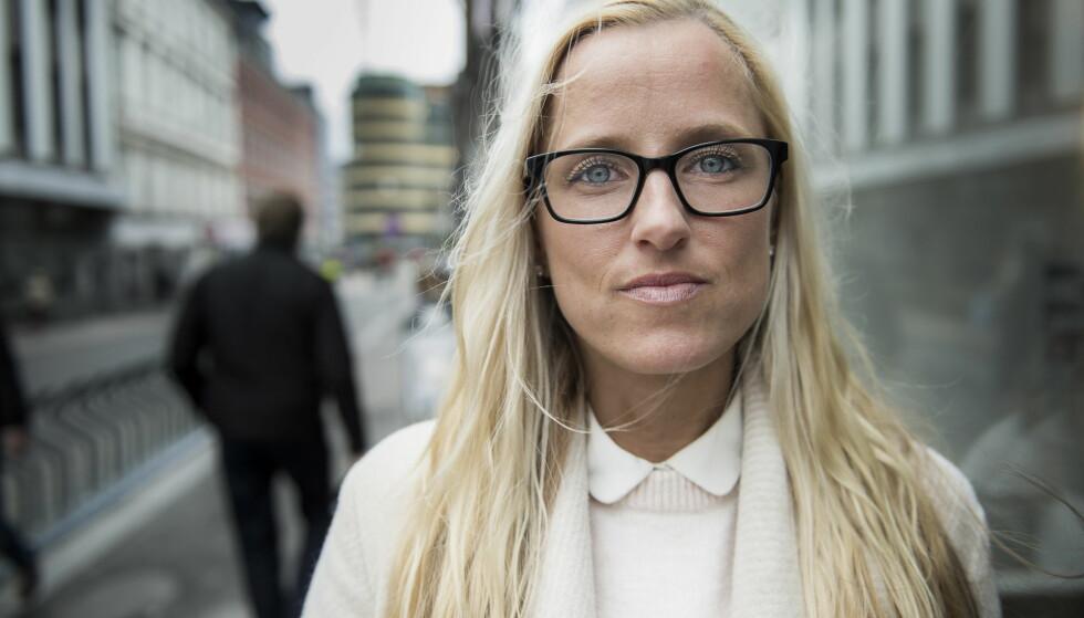 UHELDIG: Line Kolstad Rødseth ble voldtatt av Julio Kopseng. Hun mener det er uheldig at voldtektssaker mot kvinner og overgrep- og voldssaker mot barn må settes opp mot hverandre av ressurshensyn. Foto: Lars Eivind Bones
