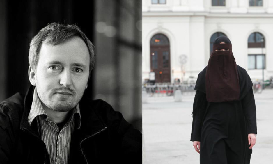 - OBJEKTIVISERING: Nikab er i en helt annen kategori enn hijab, skriver artikkelforfatteren. Foto: ARS / Lise Åserud / NTB scanpix