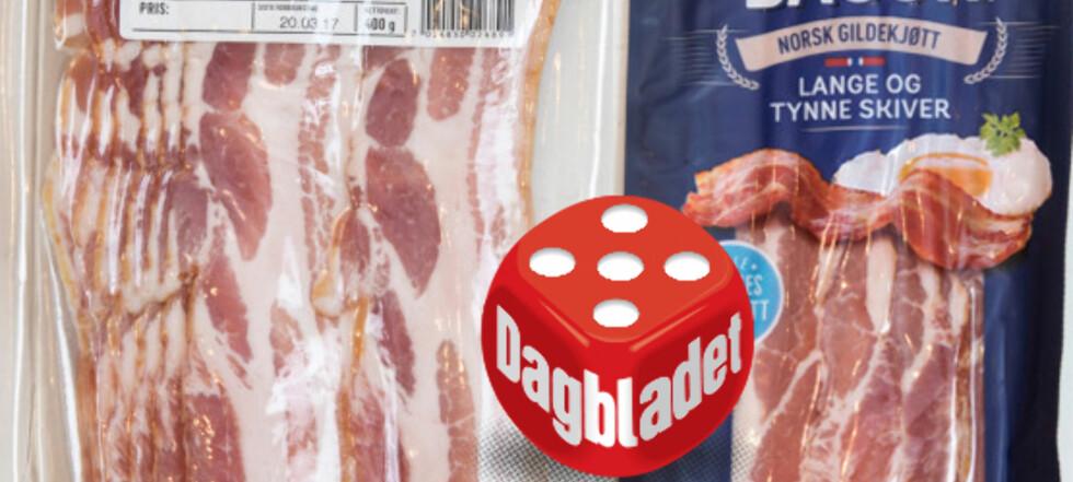 Test av bacon: - Her er det klasseforskjell