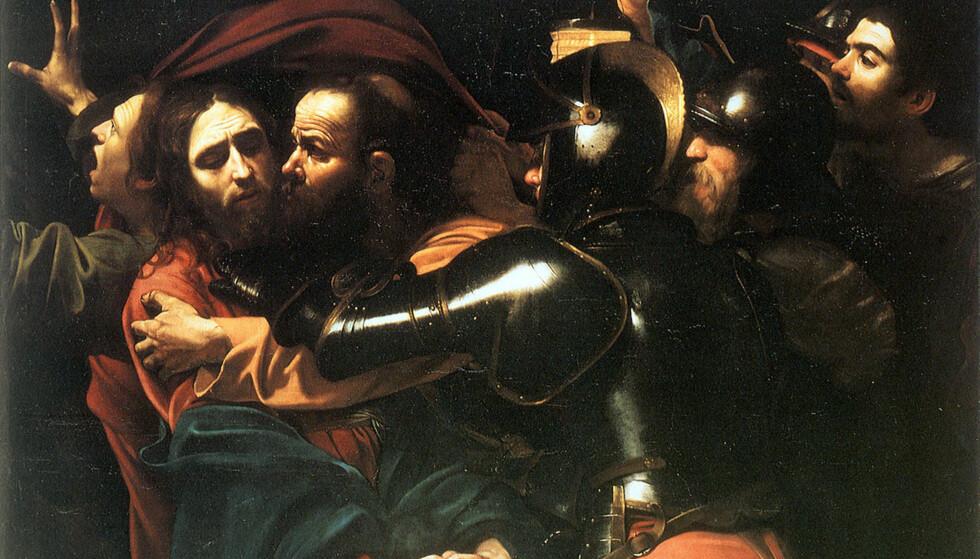 JESUS ARRESTERES: Framstilt av Carvaggio i 1602. Gud ville ikke gripe inn, forklarer seksåringen.